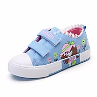 cheap Girls' Shoes-Girls' Shoes Canvas Spring Fall Comfort Sneakers for Casual Red Blue Pink