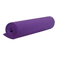 billige Matter-Yoga Matte 173.0*61.0*0.6 cm Lugtfri, Økovennlig, Klistret, Ikke Giftig PVC Fort Tørring, Antiskli Til Yoga & Danse Sko / Pilates / Trening & Fitness Grønn, Blå, Rosa