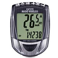 billige Sykkelcomputere og -elektronikk-CatEye® CC-MC100W Sykkelcomputer Bærbar LCD Holdbar Av - Gjennomsnittlig Hastighet Veisykling Fritidssykling Sykling / Sykkel Fjellsykkel
