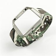 billiga Smart klocka Tillbehör-Klockarmband för Fitbit Blaze Fitbit Modernt spänne Tyg Handledsrem