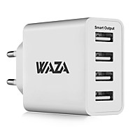 cheap -Portable Charger USB Charger EU Plug Fast Charge / Multi Ports 4 USB Ports 5 A iPhone 8 Plus / iPhone 8 / S8 Plus