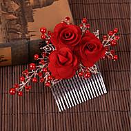 Legering Hair Combs med Imiterede Perler 1pc Bryllup / Speciel Lejlighed Medaljon