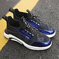 tanie Obuwie męskie-Buty PU Zima Jesień Comfort Buty do lekkiej atletyki na Atletyczny Casual Black Gray Light Blue