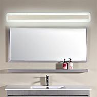 baratos Luzes para Espelho-70 cm moderno 24 w led espelho da lâmpada do banheiro luzes 100-240 v acrílico luzes de parede make-up de iluminação