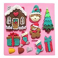 Bageværktøj Silikone Øko Venlig Kage / Småkage / Chokolade Cake Moulds 1pc