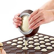 billige Bakeredskap-silikon macaron pot med 3 dyser sett bakepenn til kake dekorere verktøy