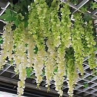 お買い得  造花-1 ブランチ ポリエステル 繊維 その他 ウォールフラワー 人工花