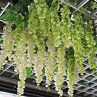 billige Kunstige blomster-1 Gren Polyester Fiber Andre Veggblomst Kunstige blomster