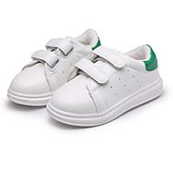 お買い得  女の子用靴-女の子 靴 PUレザー 春 / 秋 コンフォートシューズ スニーカー のために ブラック / レッド / グリーン