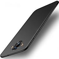 billiga Mobil cases & Skärmskydd-fodral Till Huawei Mate 10 pro Mate 10 lite Ultratunt Skal Ensfärgat Hårt PC för Mate 10 Mate 10 pro Mate 10 lite Mate 9 Mate 9 Pro Huawei