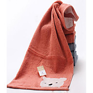 お買い得  タオル&ガウン-フレッシュスタイル ウォッシュタオル, ソリッド 優れた品質 綿100 平織り タオル タオル
