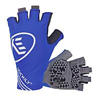 Χαμηλού Κόστους Nuckily®-Nuckily Γάντια για Δραστηριότητες/ Αθλήματα Γάντια ποδηλασίας Υπεριώδης Αντίσταση Αναπνέει Αντιολισθητική Αντικραδασμική Χωρίς Δάχτυλα