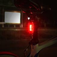 billige Sykkellykter og reflekser-Baklys til sykkel / sikkerhet lys / Baklys Sykling Vannavvisende knapp batteri knapp batteri Sykling - ROCKBROS