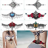 cheap Temporary Tattoos-Flower Series Classic High Quality Daily