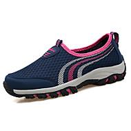 Homme Chaussures Tulle Printemps Automne Confort Mocassins et Chaussons+D6148 pour Décontracté Gris Violet Bleu marine et pourpre Bleu