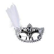 Klasik Maska za maskiranje Crn Zlatan Pink Plastika Cosplay pribor Maškare