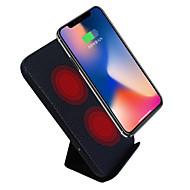 billiga Mobil cases & Skärmskydd-Trådlös laddare USB-laddare USB Trådlös laddare / Qi 1 USB-port 2 A för iPhone 8 Plus / iPhone 8 / S8 Plus
