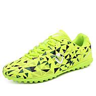 baratos Sapatos de Menino-Para Meninos / Para Meninas Sapatos Micofibra Sintética PU Primavera Conforto Tênis Futebol para Vermelho / Verde Claro / Azul Real