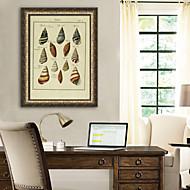billige Innrammet kunst-Dyr Still Life Tegning Veggkunst,PVC Materiale med ramme For Hjem Dekor Rammekunst Stue Kjøkken Spisestue Soverom Kontor Barnerom