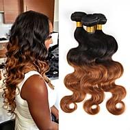 Brazilské vlasy svazky Panenské vlasy Vlnité Lidské vlasy Vazby 3ks Žhavá sleva