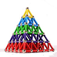 84 pcs 5mm Magnetisch speelgoed Magnetische blokken Magnetische stokken Magnetische tegels Muovi Magneet Magnetisch Piramide Kinderen / Volwassenen Unisex Jongens Meisjes Speeltjes Geschenk