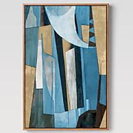 billige Innrammet kunst-Tegneserie Olje Maleri Veggkunst,Aluminium Legering Materiale med ramme For Hjem Dekor Rammekunst Stue Spisestue