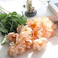 Kunstige blomster 1 Afdeling Europæisk Stil Poppy Bordblomst