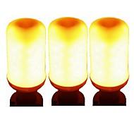 tanie Więcej Kupujesz, Więcej Oszczędzasz-SENCART 3szt 5W 700 lm GU10 E26/E27 E12/E14 Inteligentne żarówki LED E27 / E14 96 Diody lED SMD 2835 Smart Dekoracyjna LED Light Ciepłe