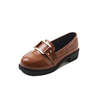 povoljno -Ženske Cipele Guma Zima Udobne cipele Oksfordice Okrugli Toe za Crn Kava