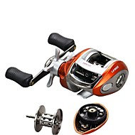 cheap Fishing-Fishing Reel Baitcasting Reels 6.2:1 Gear Ratio+12 Ball Bearings Left-handed Right-handed Bait Casting - LV200