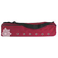 cheap Yoga Mats, Blocks & Mat Bags-22L Yoga Mat Bag - Leisure Sports, Fitness Waterproof, Wearable, Breathable Canvas Gray, Purple, Red