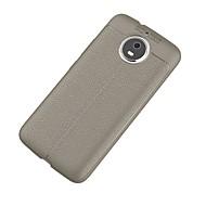 billiga Mobil cases & Skärmskydd-fodral Till Motorola G5 Plus Ultratunt Skal Enfärgad Mjukt TPU för Moto G5s Plus / Moto G5s / Moto G5 Plus / Moto G4 Plus