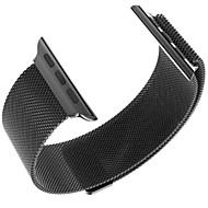 billiga Smart klocka Tillbehör-Klockarmband för Apple Watch Series 3 / 2 / 1 Apple Milanesisk loop Stål Handledsrem
