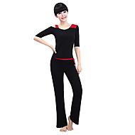 Yoga Kompleti odjeće Puha Lagani materijali Rastezljivo Sportska odjeća Žene Yoga Pilates Sposobnost Slobodno vrijeme Sport Trčanje