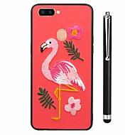 billiga Mobil cases & Skärmskydd-fodral Till Vivo X20 Plus X20 Mönster Skal Flamingo Djur Mjukt TPU för vivo X20 Plus vivo X20