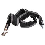 billige Tastelåser-flytte jern terrengsykkel / motorsykkelkjede innbruddslås metallkabel 90cm