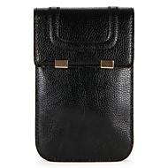 billiga Mobil cases & Skärmskydd-fodral Till Huawei P10 / P9 Plånbok / Korthållare Liten påse Enfärgad Mjukt PU läder för P10 Plus / P10 Lite / P10