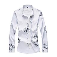 Veći konfekcijski brojevi Majica Muškarci Dnevno Rad Geometrijski oblici Slim