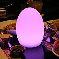 billige Lamper-1pc LED Night Light Innebygd Li-batteridrevet / USB Port Fjernstyrt / Oppladbar / Med USB-port