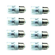 billige Kornpærer med LED-8pcs 3W 200lm E14 G9 GU10 E26 / E27 E12 LED-kornpærer T 6 LED perler SMD 5730 Dekorativ Varm hvit Kjølig hvit 85-265V