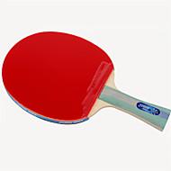 baratos Tenis de Mesa-DHS® R5002-R5003 Ping Pang/Tabela raquetes de tênis Madeira Borracha 5 Estrelas Cabo Comprido Espinhas