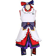 cheap Anime Cosplay-Inspired by Love Live Other Anime Cosplay Costumes Cosplay Suits Other Sleeveless Dress Gloves Socks More Accessories Sash / Ribbon For