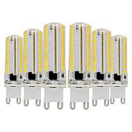 billige Bi-pin lamper med LED-YWXLIGHT® 6pcs 7W 600-700lm G9 LED-lamper med G-sokkel T 152 LED perler SMD 3014 Mulighet for demping Varm hvit Kjølig hvit 110-130V