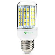 billige Kornpærer med LED-SENCART 1pc 8W 1500lm E14 / GU10 / B22 LED-kornpærer T 96 LED perler SMD 5630 Dekorativ Varm hvit / Kjølig hvit 110-120V / 200-240V