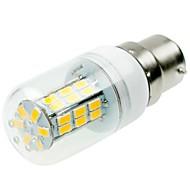 billige Kornpærer med LED-SENCART 1pc 5W 800-1200lm E14 / G9 / B22 LED-kornpærer T 42 LED perler SMD 5730 Dekorativ Varm hvit / Kjølig hvit 220-240V / 12V