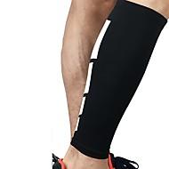 billige Sportsstøtter-Støtte til skinnelegg til Racerløp Basketball Jogging Løp Unisex Nedslags Resistent Non-Slip Sport & Utendørs Elastan Spandex 1 stk Hvit