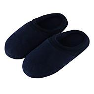 tanie Pantofle-Zwyczajny Pantofle dla gości Pantofle Pantofle męskie Bawełna Jedwab Bawełna Jeden kolor