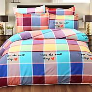billige Moderne dynetrekk-Sengesett Moderne Polyester / Bomull / 100% bomull Garn Bleket 4 deler