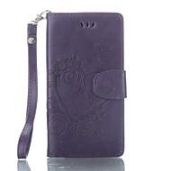 billiga Mobil cases & Skärmskydd-fodral Till Sony Xperia XA Korthållare Plånbok med stativ Lucka Läderplastik Fodral Fjäril Hårt PU läder för Sony Xperia XA Sony Xperia X