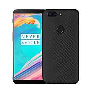 billiga Mobil cases & Skärmskydd-fodral Till OnePlus 5 / OnePlus 5T Ultratunt Skal Enfärgad Mjukt TPU för One Plus 5 / OnePlus 5T / One Plus 3T